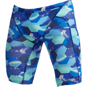 Funky Trunks Training Jammers Men, hex pistols